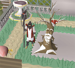 Christmas-themed Spirit Tree Preview from OSRS