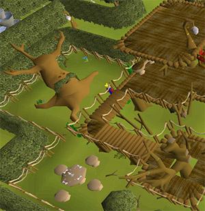 Gnome Stronghold Spirit Tree OSRS Screenshot