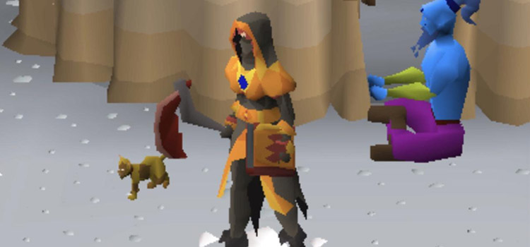 Tome of Fire Equipped in Old School RuneScape