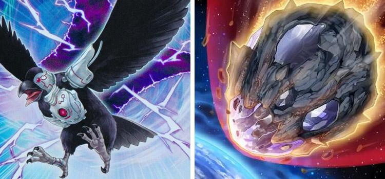 D.D. Crow and Nibiru YGO Cards
