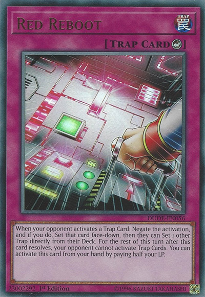 Red Reboot YGO Card