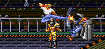 Streets of Rage 2 Genesis Gameplay