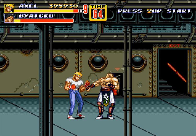 Streets of Rage 2 game screenshot