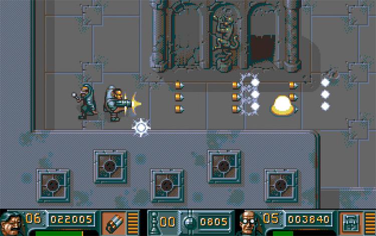 The Chaos Engine on Sega Genesis