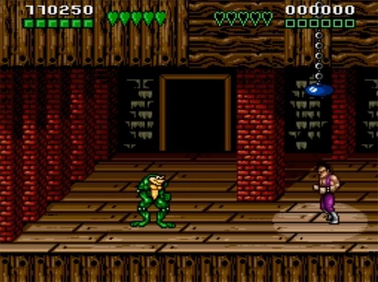 Battletoads & Double Dragon Sega screenshot