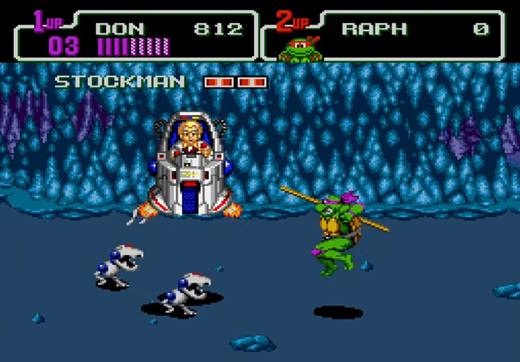 Teenage Mutant Ninja Turtles: The Hyperstone Heist gameplay