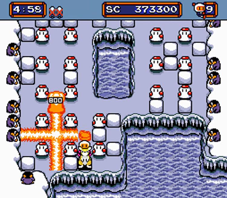 Mega Bomberman 1995 Genesis gameplay