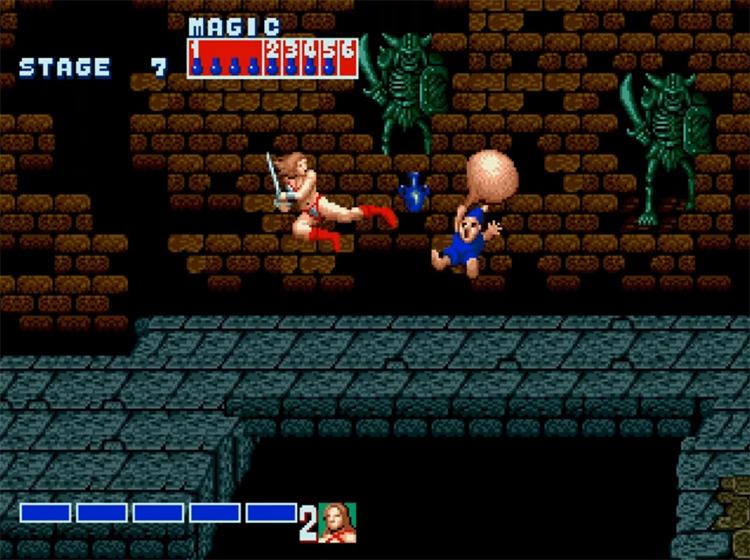 Golden Axe / Mega Drive gameplay