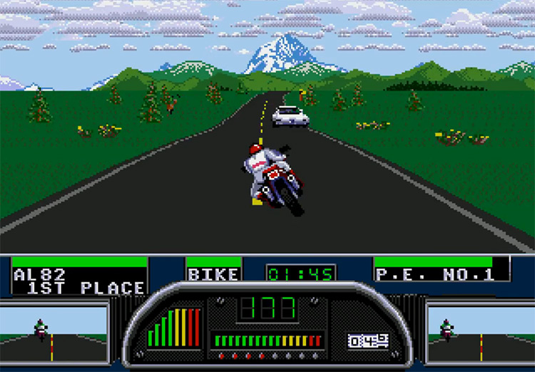 Road Rash 2 game screenshot