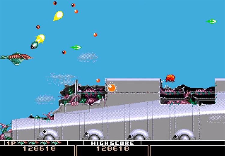 Bio-Hazard Battle on Sega Genesis