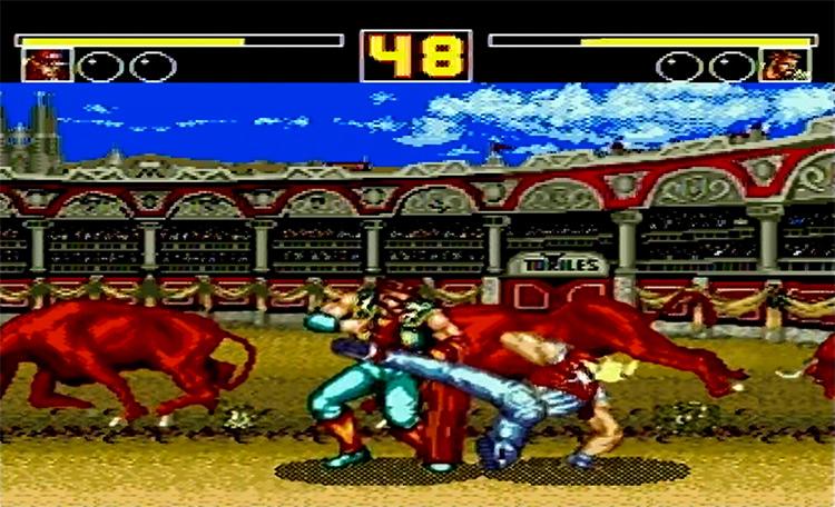 Fatal Fury 2 Sega gameplay