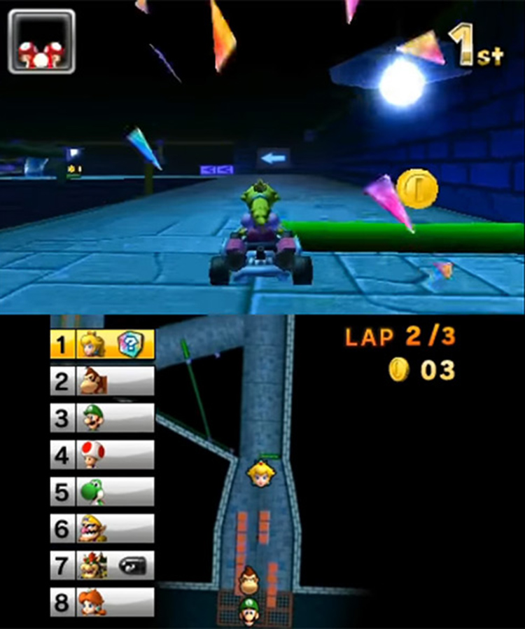 Mario Kart 7 mobile gameplay