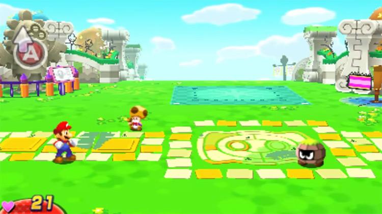 Mario & Luigi: Dream Team 3DS gameplay
