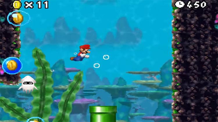 New Super Mario Bros. (2006) game screenshot