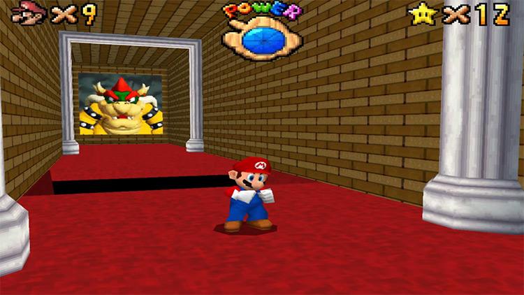 Super Mario 64 DS on Nintendo DS
