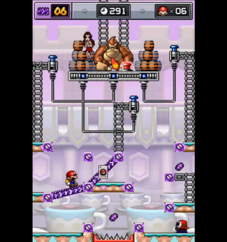 Mario vs. Donkey Kong: Mini-Land Mayhem game screenshot
