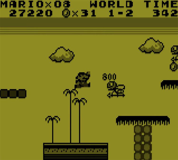 Super Mario Land Game Boy Screenshot