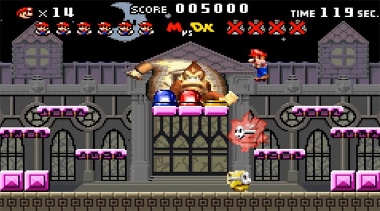 Mario vs. Donkey Kong GBA screenshot