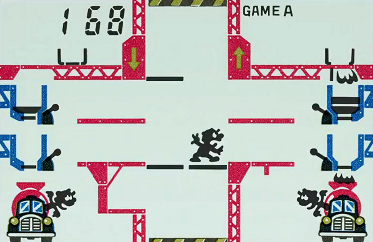 Mario's Cement Factory / Game & Watch series