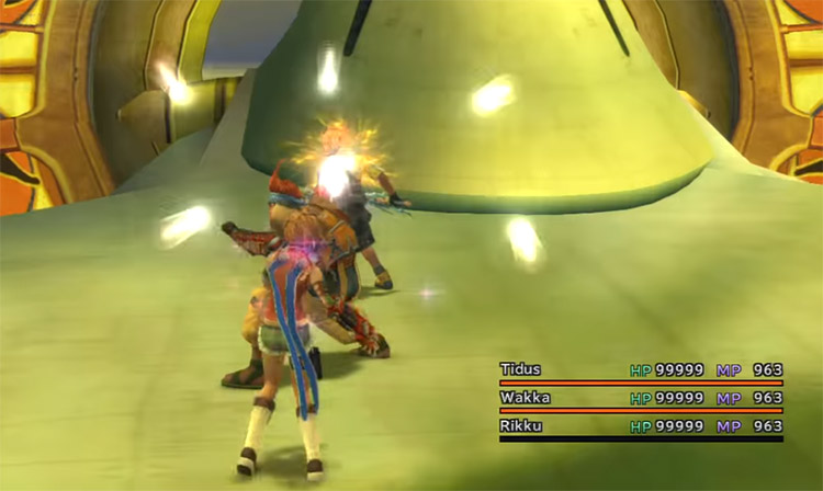 FFX HD All characters with max HP