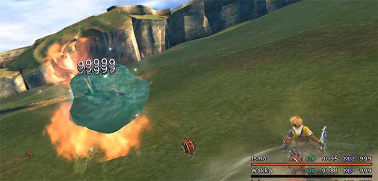 Break Damage Limit from Wakka's Blitzball in FFX HD