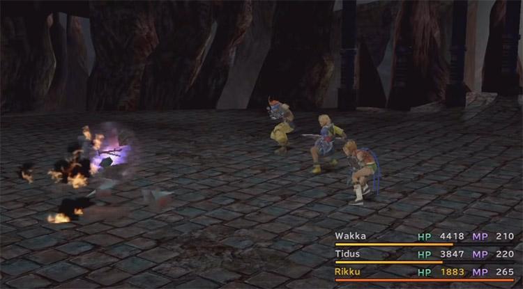 Mimic Battle in Omega Ruins / FFX HD