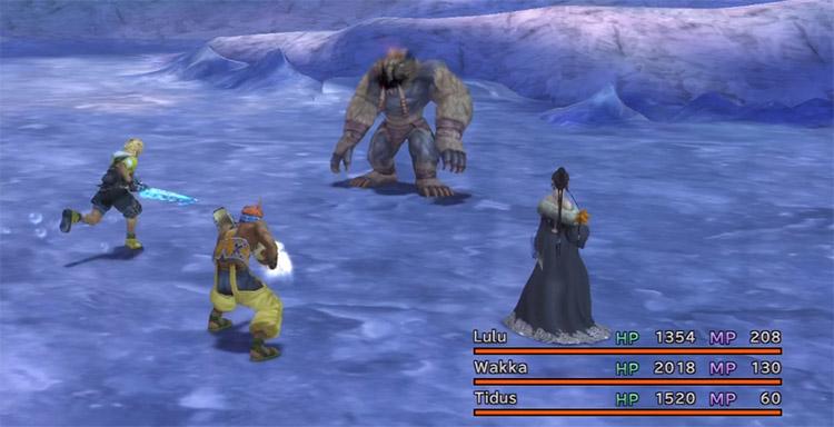 Wendigo Battle Screenshot / FFX HD