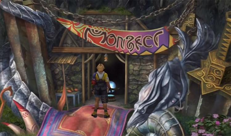 Tidus inside Monster Arena in FFX HD