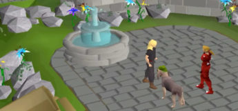 Bloodhound Pet Screenshot in Old School RuneScape