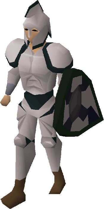 3rd Age Armour Render in OSRS