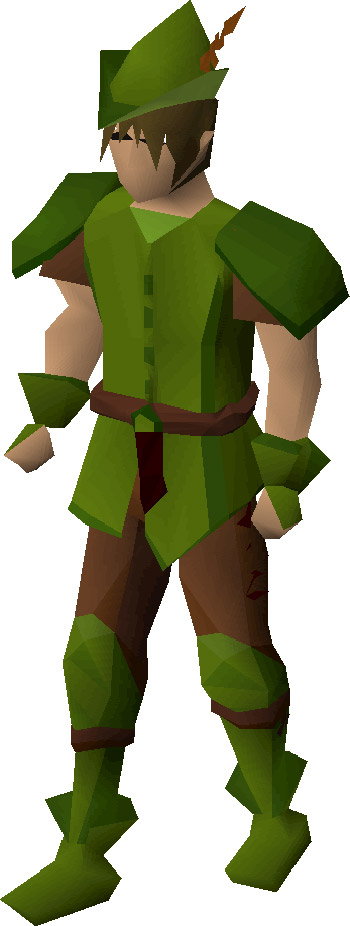 Ranger Boots Render from OSRS