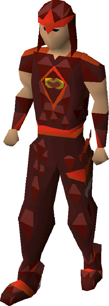 Blessed D'Hide Armour from OSRS