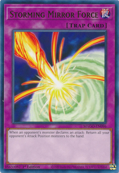 Storming Mirror Force Yu-Gi-Oh Card
