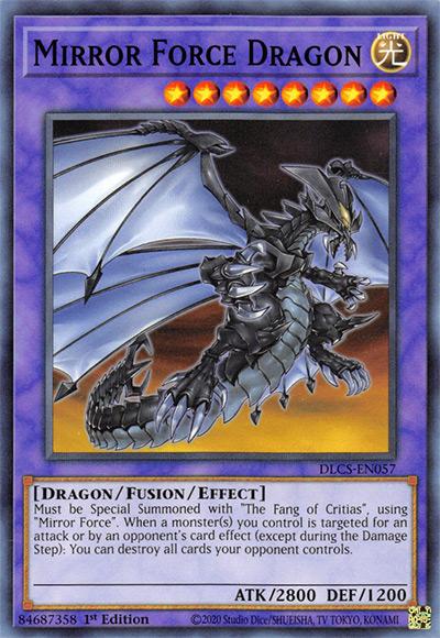 Mirror Force Dragon YGO Card