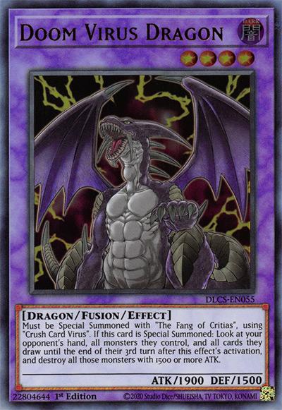 Doom Virus Dragon YGO Card