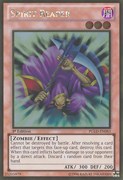 Spirit Reaper YGO Card