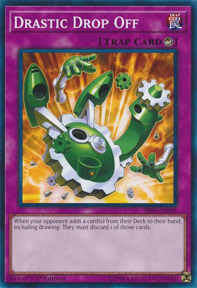 Drastic Drop Off Yu-Gi-Oh Card