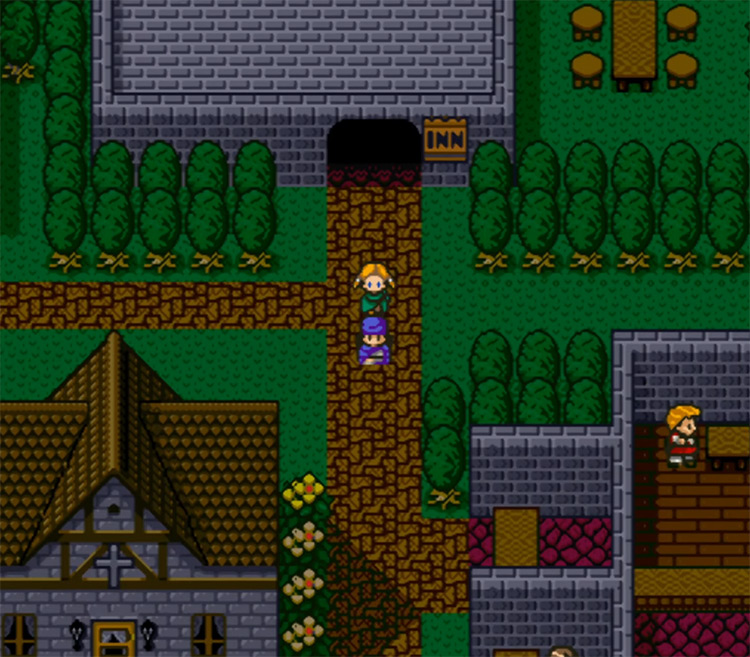 Dragon Quest V: Hand of the Heavenly Bride gameplay