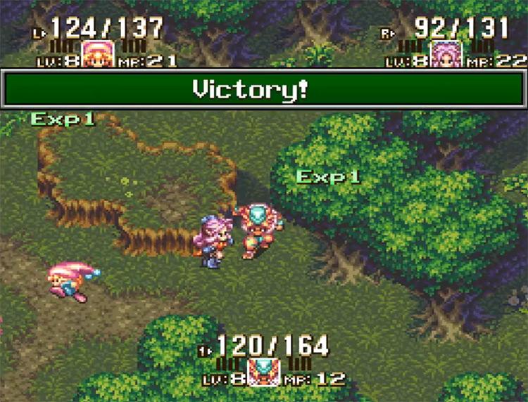 Seiken Densetsu III game screenshot