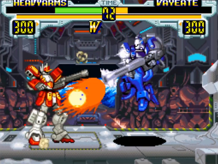 Mobile Suit Gundam Wing: Endless Duel screenshot