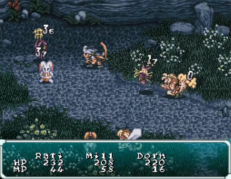 Star Ocean SNES/SFC game