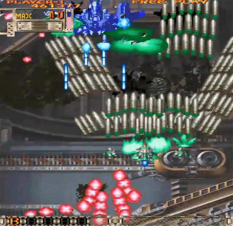 DoDonPachi DaiOuJou gameplay on PS2