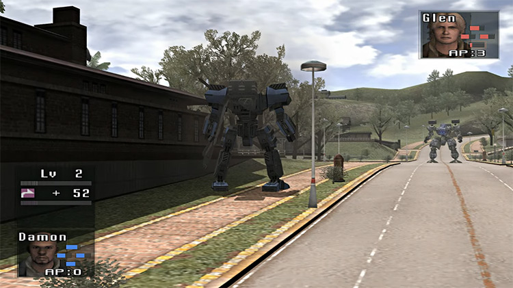 Front Mission 5: Scars of the War screenshot