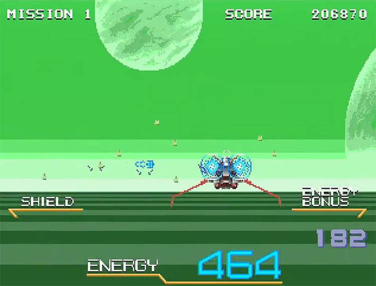 Galaxy Force II: Special Extended Edition PS2 screenshot
