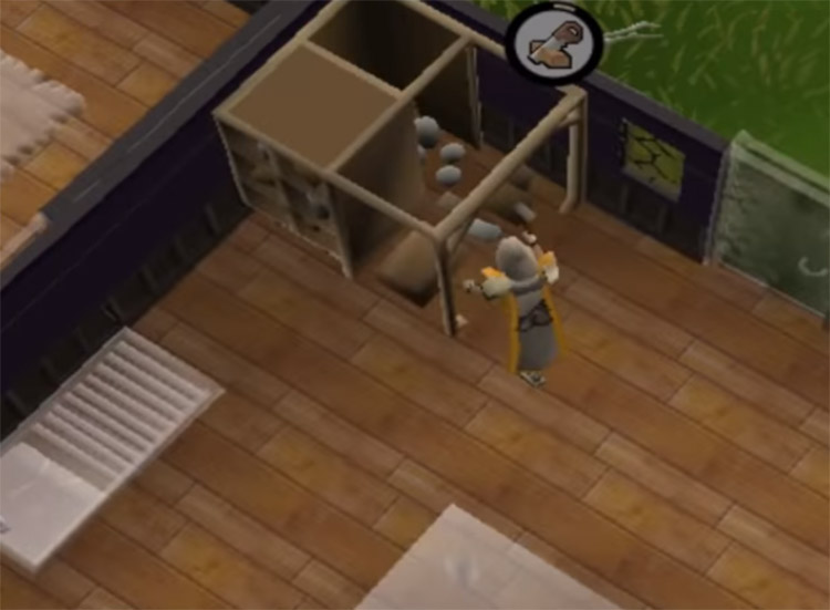 Building construction in house in OSRS