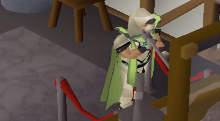 Crafting up close in OSRS