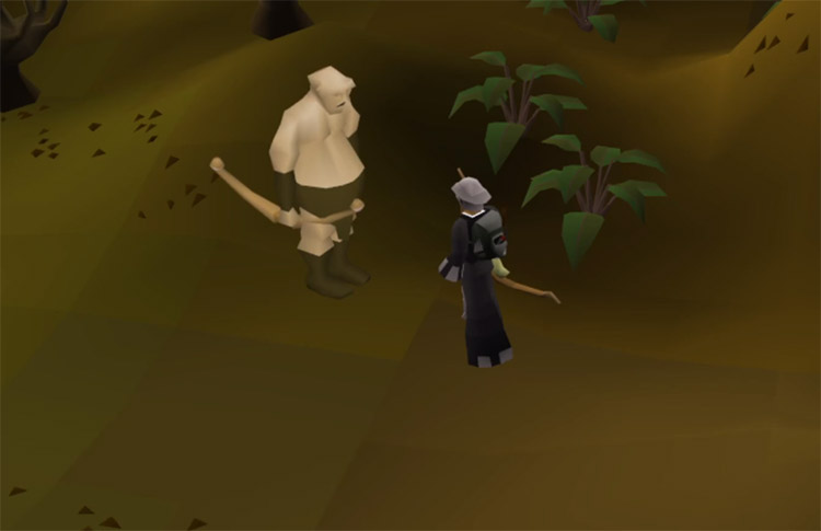 Ranging with a bow in OSRS