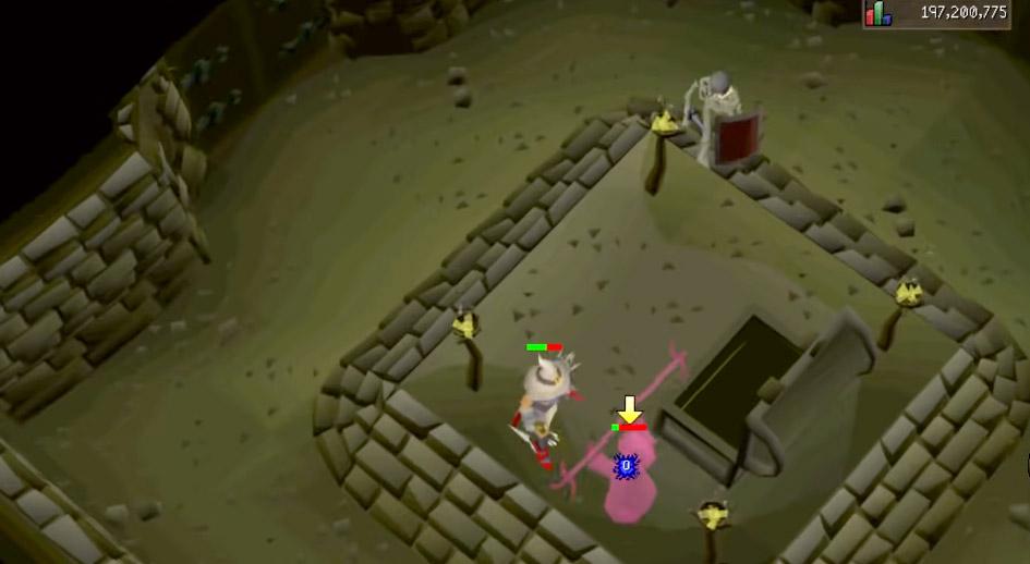 OSRS Open Treasure Chest in Battle