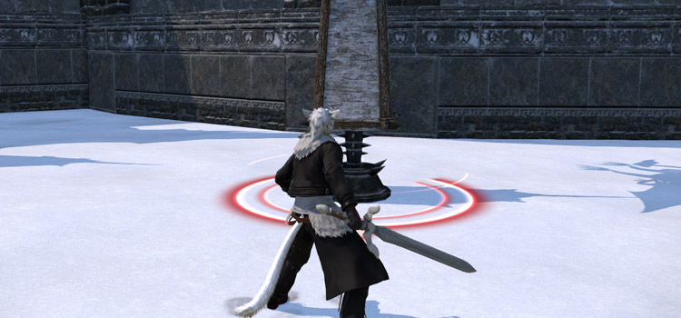 Positional Circle from Final Fantasy XIV