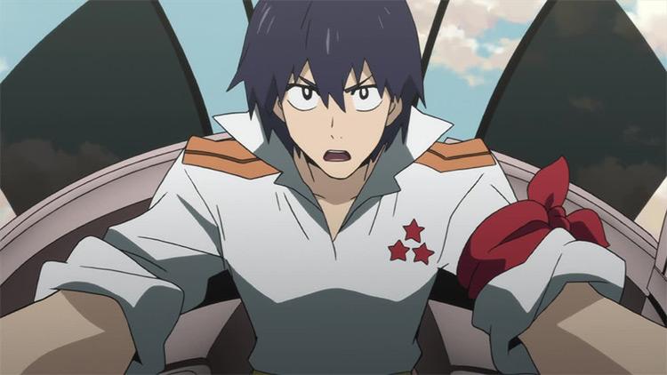 Simon Gurren Lagann anime screenshot